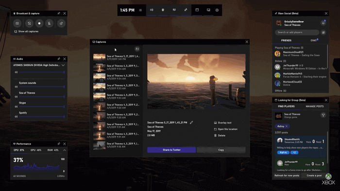free game recording software for windows 10