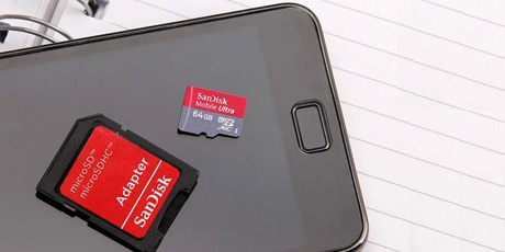 Image of memory card for helping do memory card recovery.