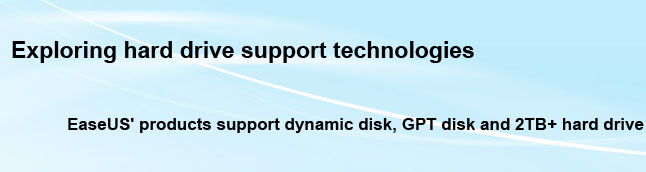 GPT, dynamic, large drive Technologies