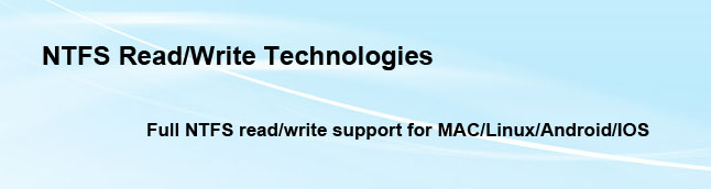 NTFS Read/Write Technologies