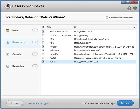 A fat way to transfer iPhone 5 bookmark to PC before iOS 6 update