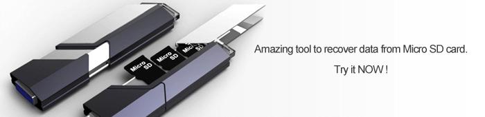 microSD-Karte Datenrettung Software kann microSD-Karte wiederherstellen