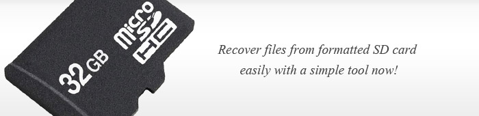 SD Card Format Recovery