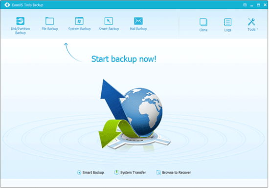 EaseUS Partition Master Startup