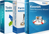 Data Recovery Wizard Pro + Partition Master Pro + Todo Backup Workstation
