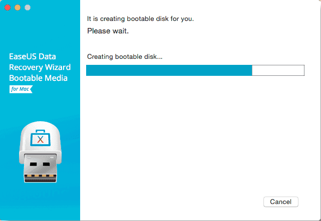 Choose available USB flash drive to create the bootable disk