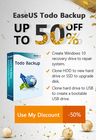 EaseUS Todo Backup UP TO 50% OFF