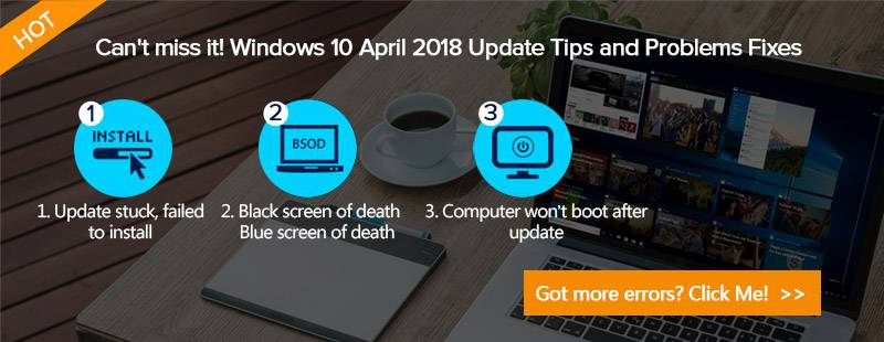 windows 10 update problems and fixes