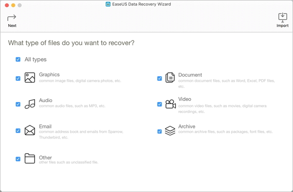 EaseUS Data Recovery Wizard for Mac helps to make Office recovery on Mac and recover PowerPoint files.